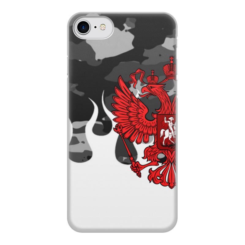 Printio Чехол для iPhone 8, объёмная печать Россия чехол
