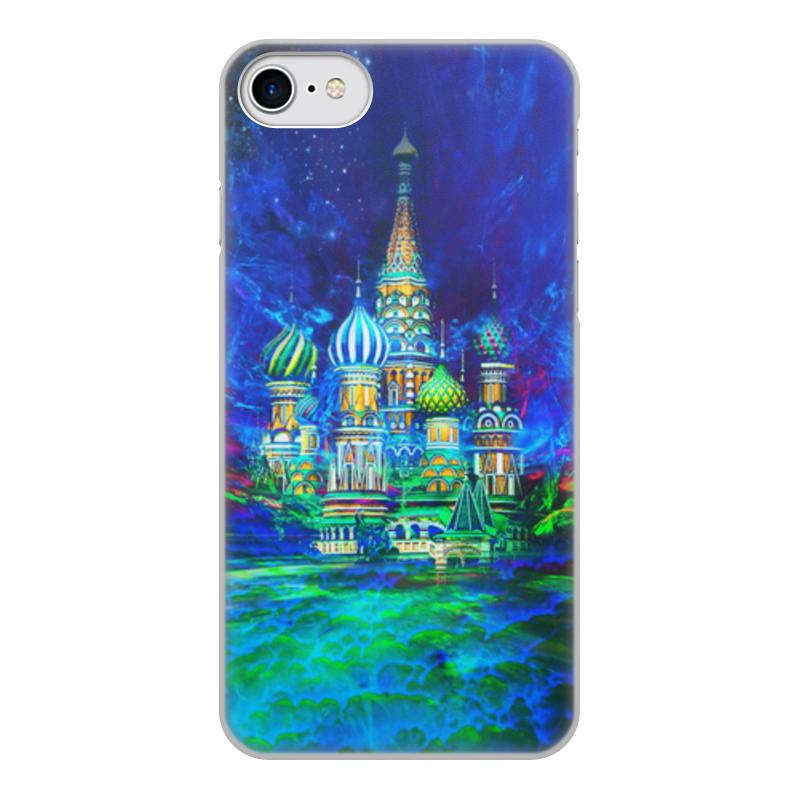Printio Чехол для iPhone 8, объёмная печать Москва