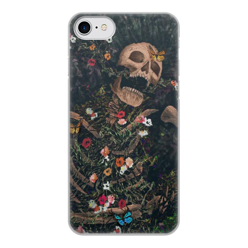Printio Чехол для iPhone 8, объёмная печать Последний звонок