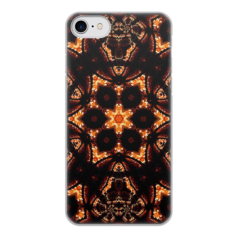 Printio Чехол для iPhone 8, объёмная печать Голос огня чехол