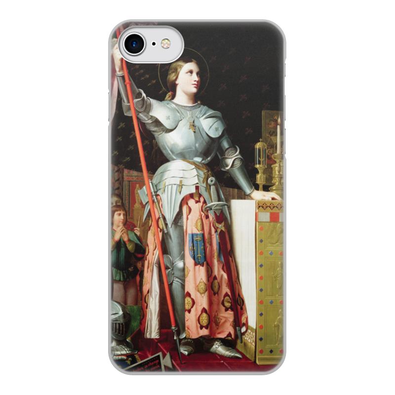 Фото - Printio Чехол для iPhone 8, объёмная печать Жанна д'арк на коронации карла vii (энгр) printio чехол для iphone 5 5s объёмная печать жанна д'арк на коронации карла vii энгр