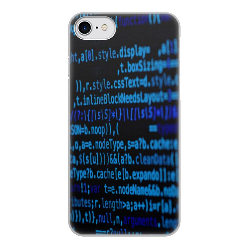 Printio Чехол для iPhone 8, объёмная печать Программа
