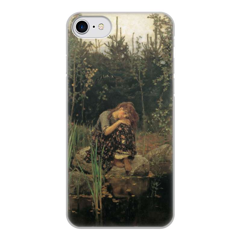 Printio Чехол для iPhone 8, объёмная печать Алёнушка (картина васнецова)