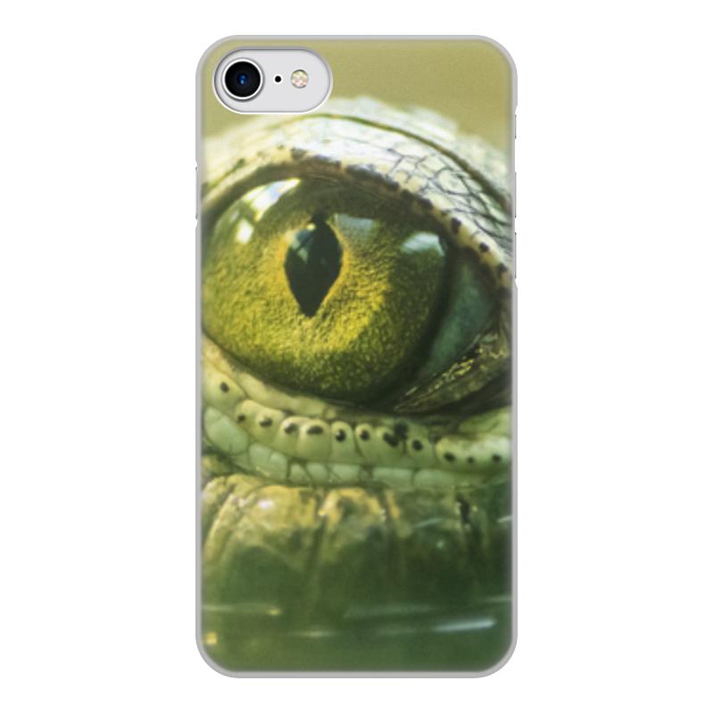 Printio Чехол для iPhone 8, объёмная печать Рептилии