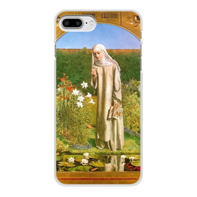 Printio Чехол для iPhone 8 Plus, объёмная печать Мысли монахини (чарльз олстон коллинз)