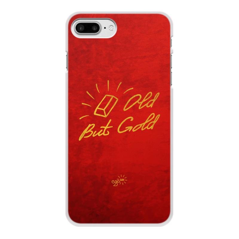 Printio Чехол для iPhone 8 Plus, объёмная печать Old but gold - ego sun printio чехол для iphone 8 plus объёмная печать золотое поколение ego sun