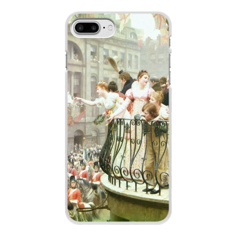 Фото - Printio Чехол для iPhone 8 Plus, объёмная печать 1816 (эдмунд блэр лейтон) printio чехол для iphone 7 plus объёмная печать сирень эдмунд блэр лейтон