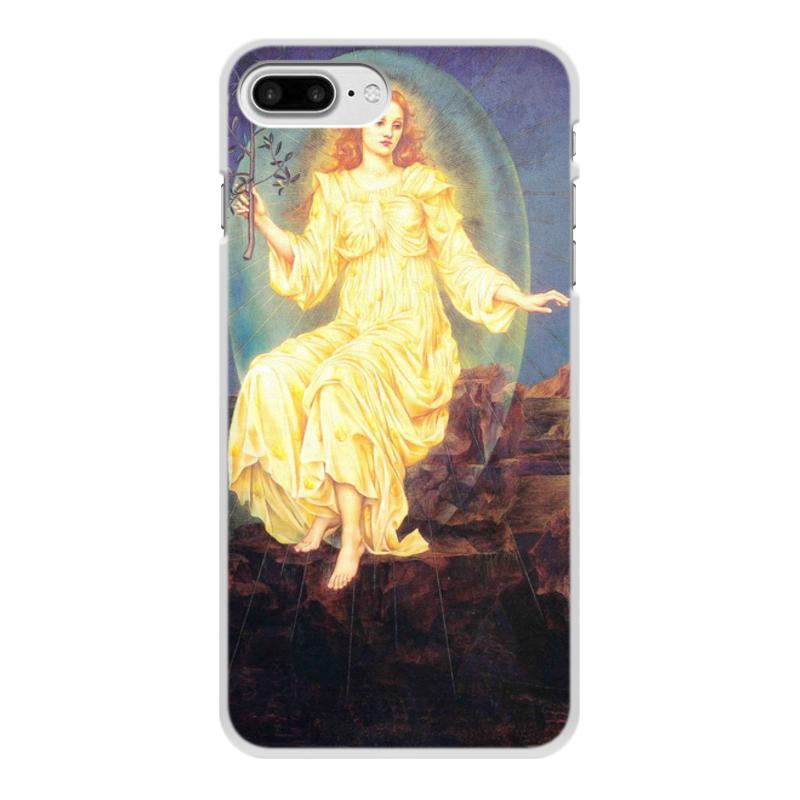 Printio Чехол для iPhone 8 Plus, объёмная печать Свет во тьме (эвелин де морган)