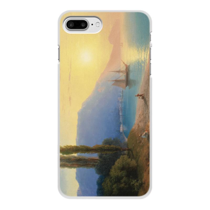 Printio Чехол для iPhone 8 Plus, объёмная печать Закат в ялте (картина айвазовского)