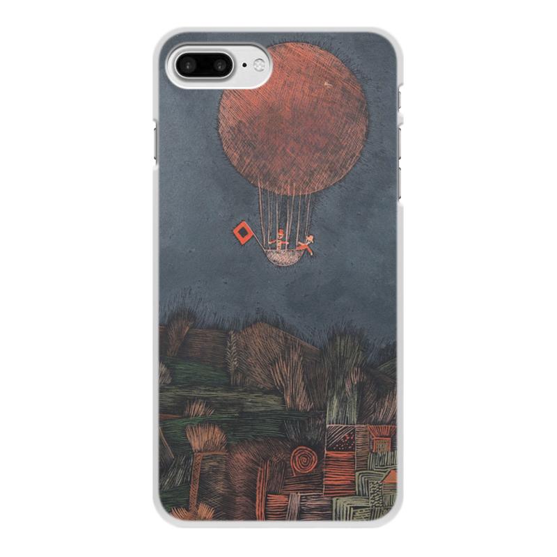 Фото - Printio Чехол для iPhone 8 Plus, объёмная печать Воздушный шар (пауль клее) printio чехол для iphone 8 plus объёмная печать тепло пауль клее