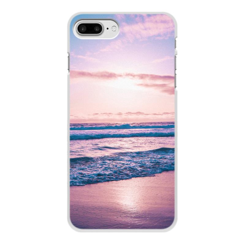 Printio Чехол для iPhone 8 Plus, объёмная печать Summer time!