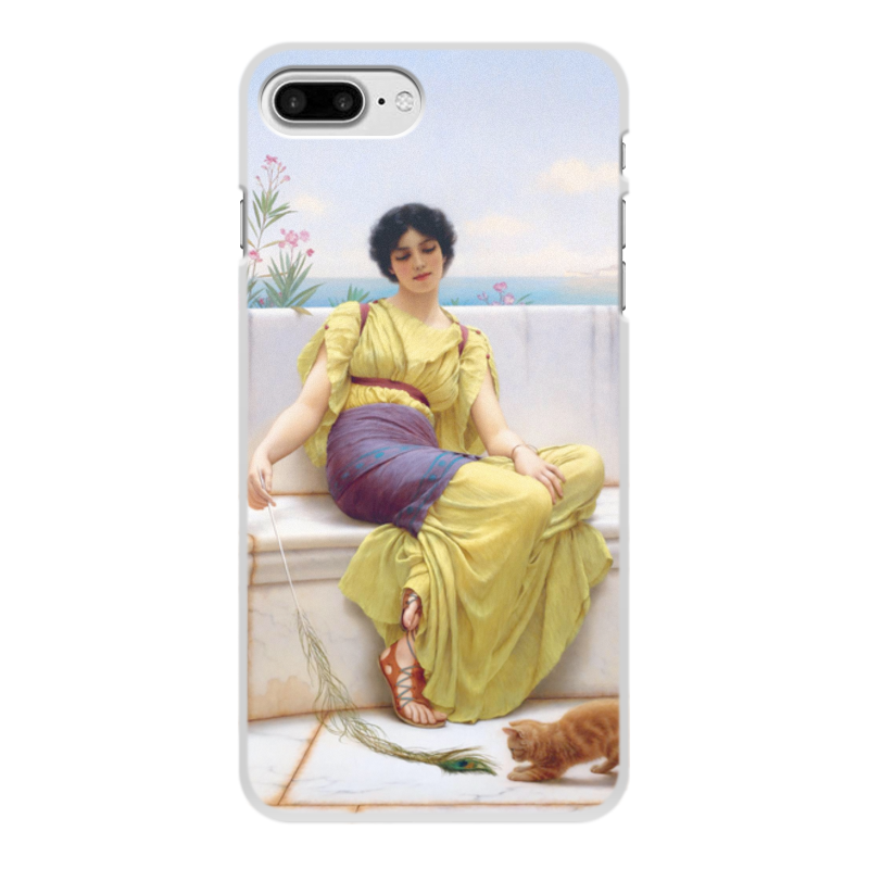 Printio Чехол для iPhone 8 Plus, объёмная печать Праздность (джон уильям годвард) недорого