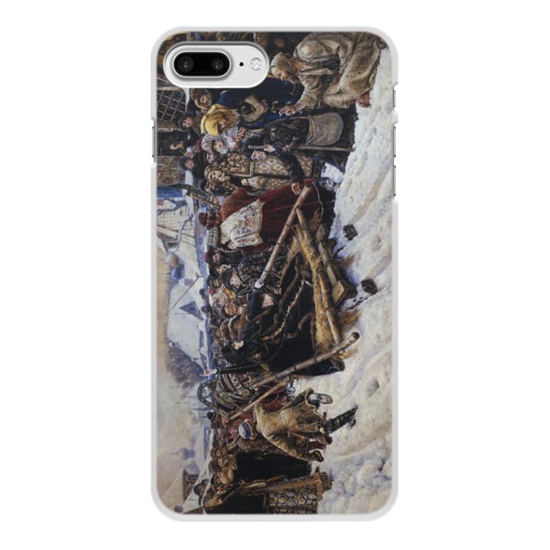 Printio Чехол для iPhone 8 Plus, объёмная печать Боярыня морозова (картина в. и. сурикова)