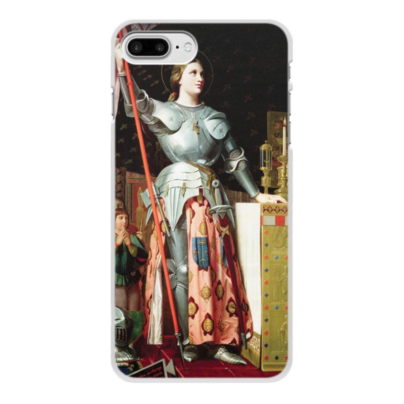 Фото - Printio Чехол для iPhone 8 Plus, объёмная печать Жанна д'арк на коронации карла vii (энгр) printio чехол для iphone 5 5s объёмная печать жанна д'арк на коронации карла vii энгр