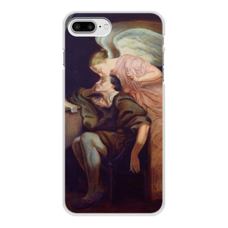 Фото - Printio Чехол для iPhone 8 Plus, объёмная печать Поцелуй музы (поль сезанн) printio чехол для iphone 7 plus объёмная печать поцелуй картина климта
