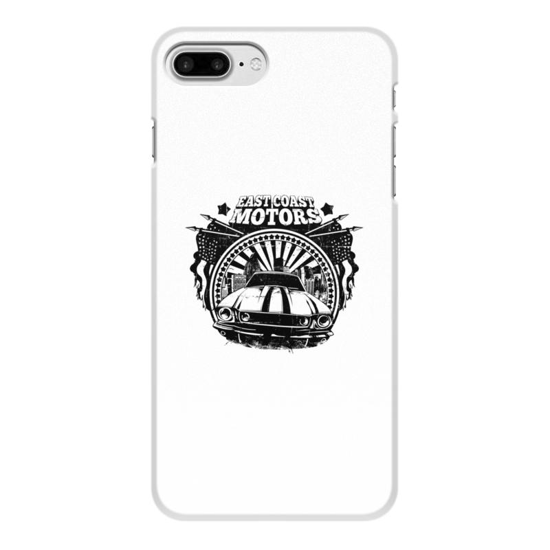 Printio Чехол для iPhone 8 Plus, объёмная печать East coast motors printio чехол для iphone 6 объёмная печать east coast motors