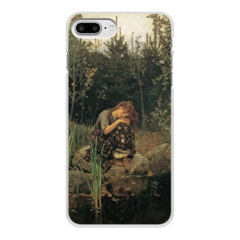 Printio Чехол для iPhone 8 Plus, объёмная печать Алёнушка (картина васнецова)