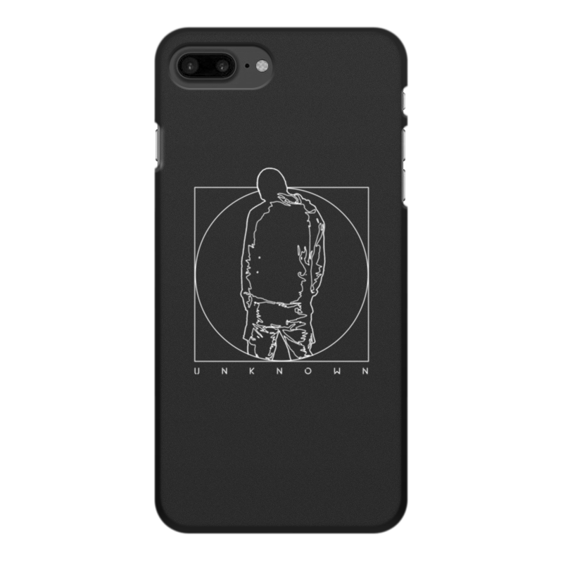 Printio Чехол для iPhone 8 Plus, объёмная печать Unknown printio чехол для iphone 6 объёмная печать unknown