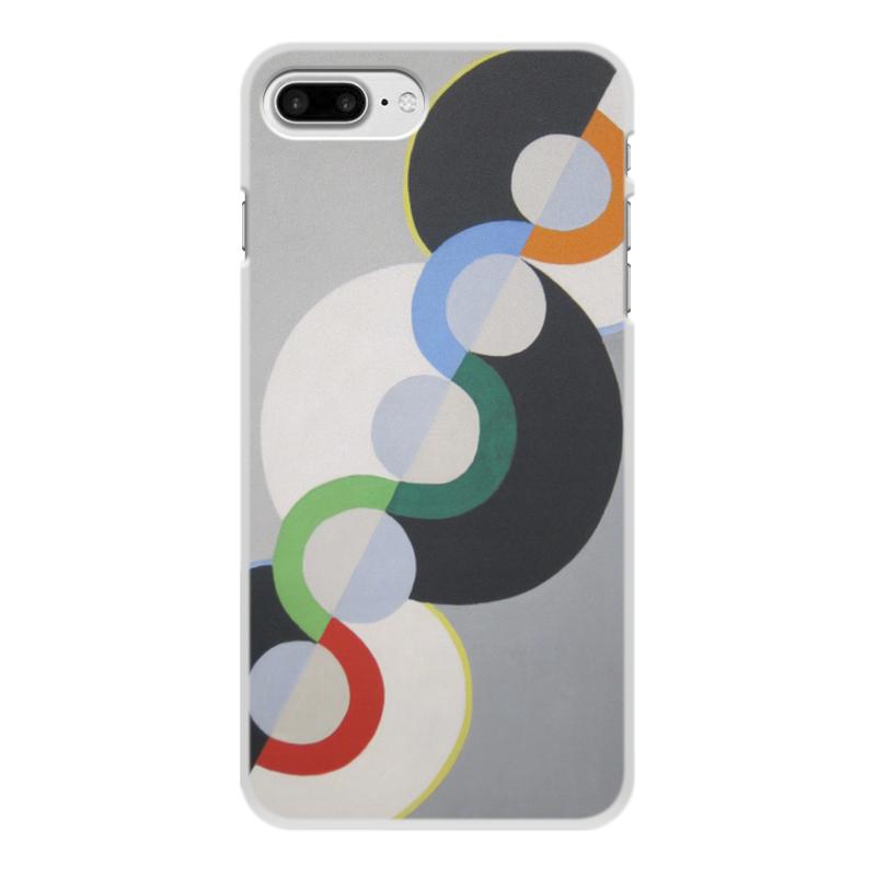Фото - Printio Чехол для iPhone 8 Plus, объёмная печать Бесконечный ритм (робер делоне) printio чехол для iphone x xs объёмная печать бесконечный ритм робер делоне