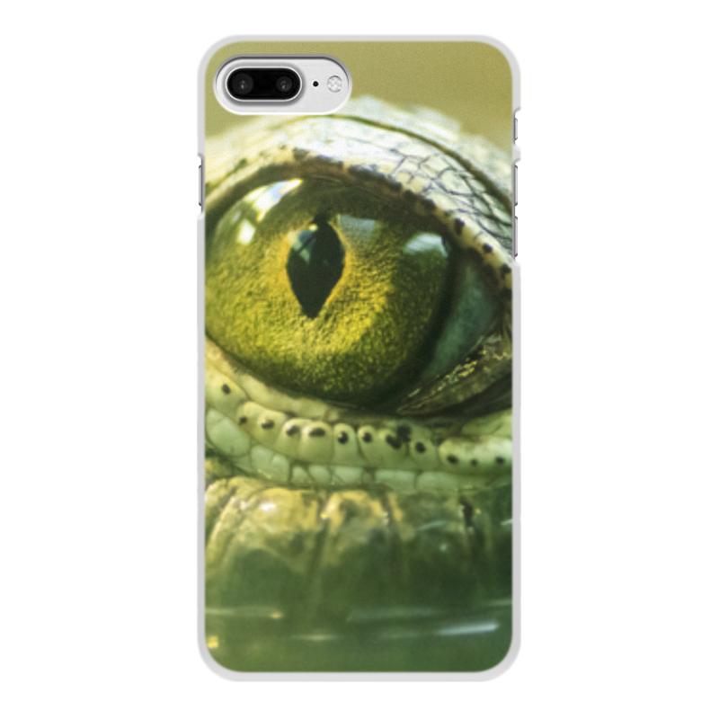 Printio Чехол для iPhone 8 Plus, объёмная печать Рептилии
