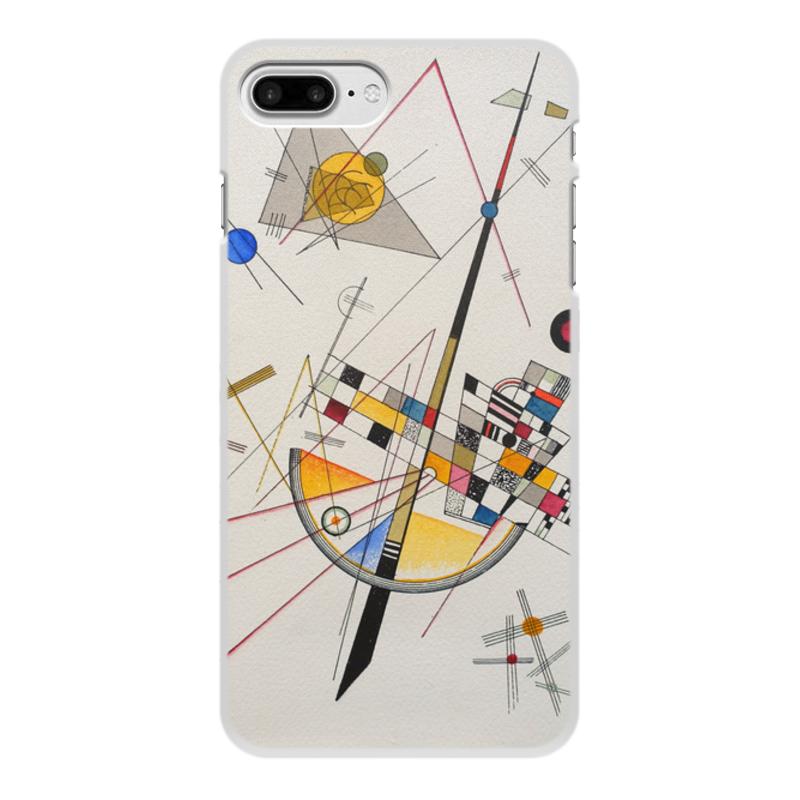 Printio Чехол для iPhone 8 Plus, объёмная печать Тонкое напряжение (василий кандинский) printio чехол для iphone 7 plus объёмная печать тонкое напряжение василий кандинский