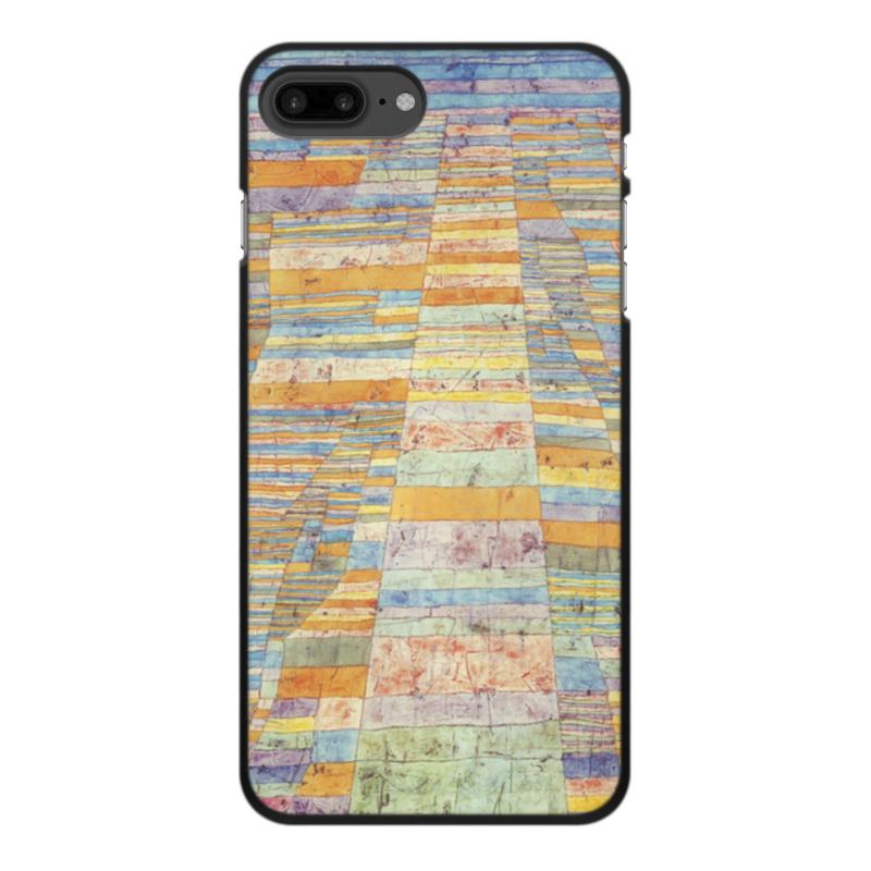 Фото - Printio Чехол для iPhone 8 Plus, объёмная печать Шоссе и переулки (пауль клее) printio чехол для iphone 8 plus объёмная печать тепло пауль клее