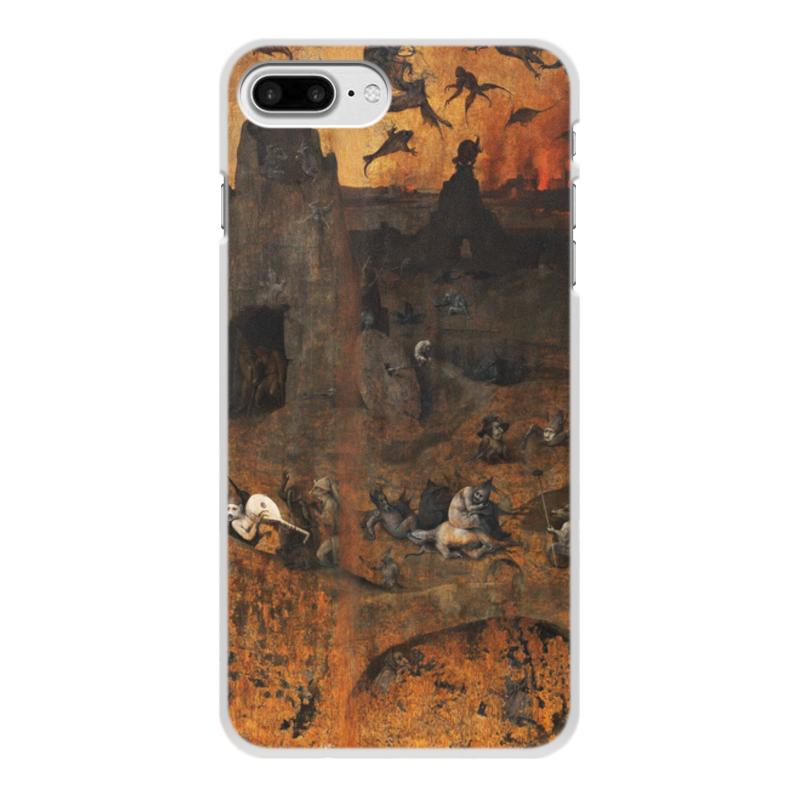Фото - Printio Чехол для iPhone 8 Plus, объёмная печать Ад (ад и потоп (створки алтаря иеронима босха)) printio чехол для samsung galaxy s8 plus объёмная печать ад ад и потоп створки алтаря иеронима босха
