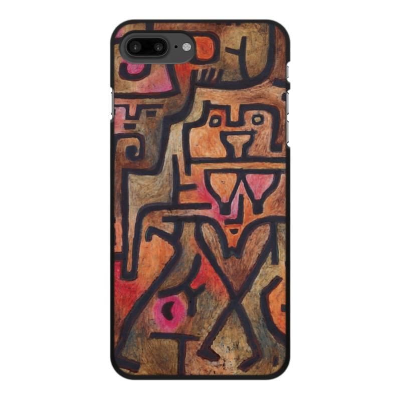 Фото - Printio Чехол для iPhone 8 Plus, объёмная печать Лесные ведьмы (пауль клее) printio чехол для iphone 8 plus объёмная печать тепло пауль клее
