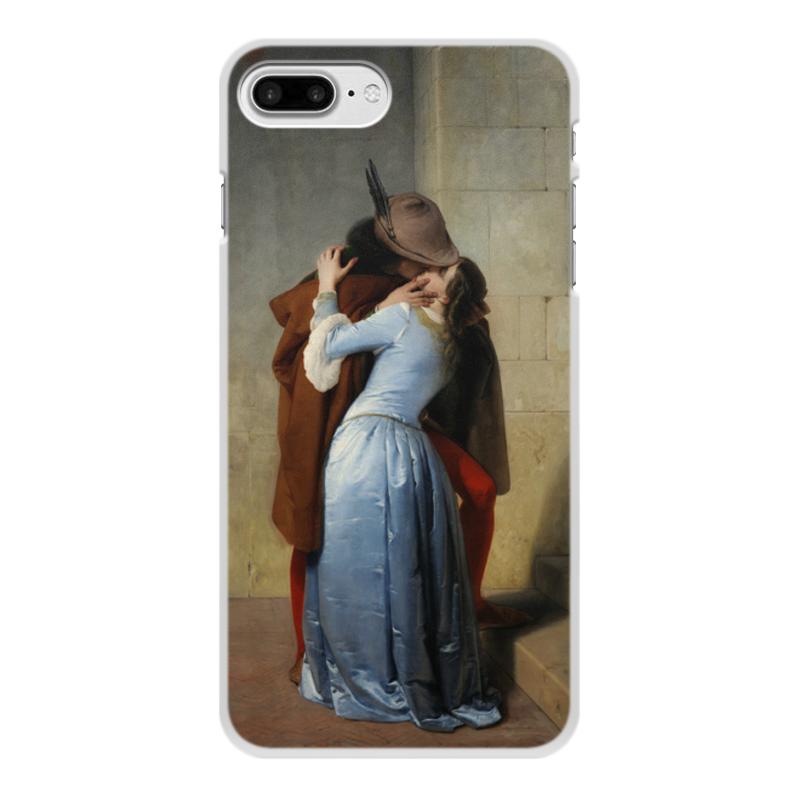 Фото - Printio Чехол для iPhone 8 Plus, объёмная печать Поцелуй (франческо айец) printio чехол для iphone 7 plus объёмная печать поцелуй картина климта
