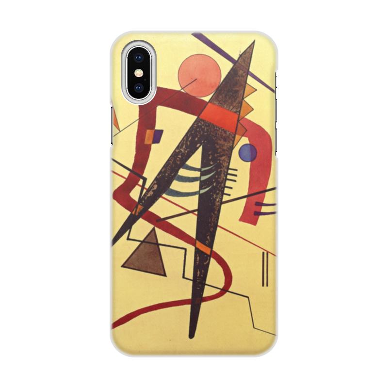 Фото - Printio Чехол для iPhone X/XS, объёмная печать Тепло (пауль клее) printio чехол для iphone 8 plus объёмная печать тепло пауль клее