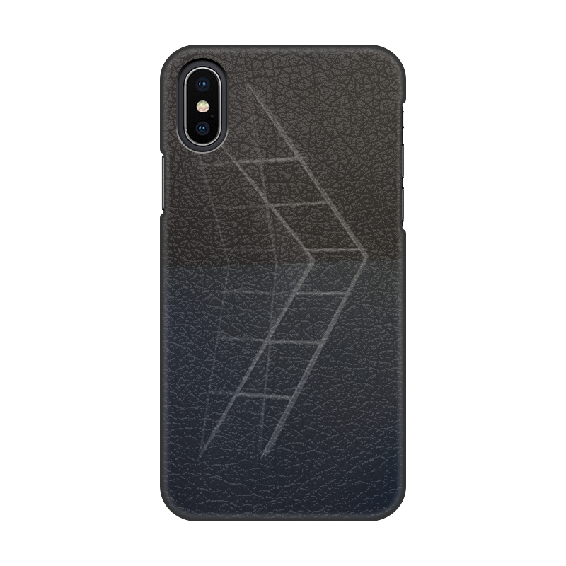 Printio Чехол для iPhone X/XS, объёмная печать Лестница.