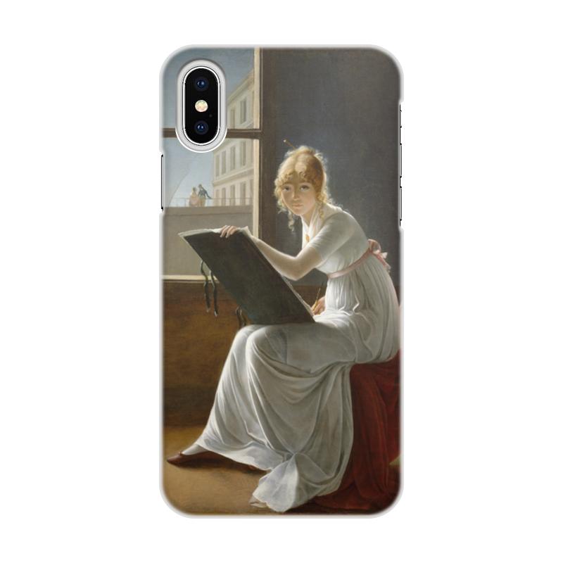 Фото - Printio Чехол для iPhone X/XS, объёмная печать Портрет молодой женщины (мари-дениз вильер) printio чехол для iphone x xs объёмная печать портрет молодой женщины боттичелли