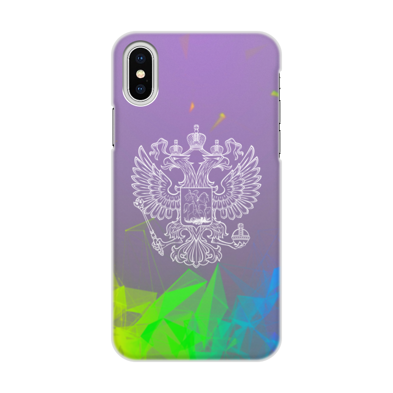 Printio Чехол для iPhone X/XS, объёмная печать Россия printio чехол для iphone x xs объёмная печать россия