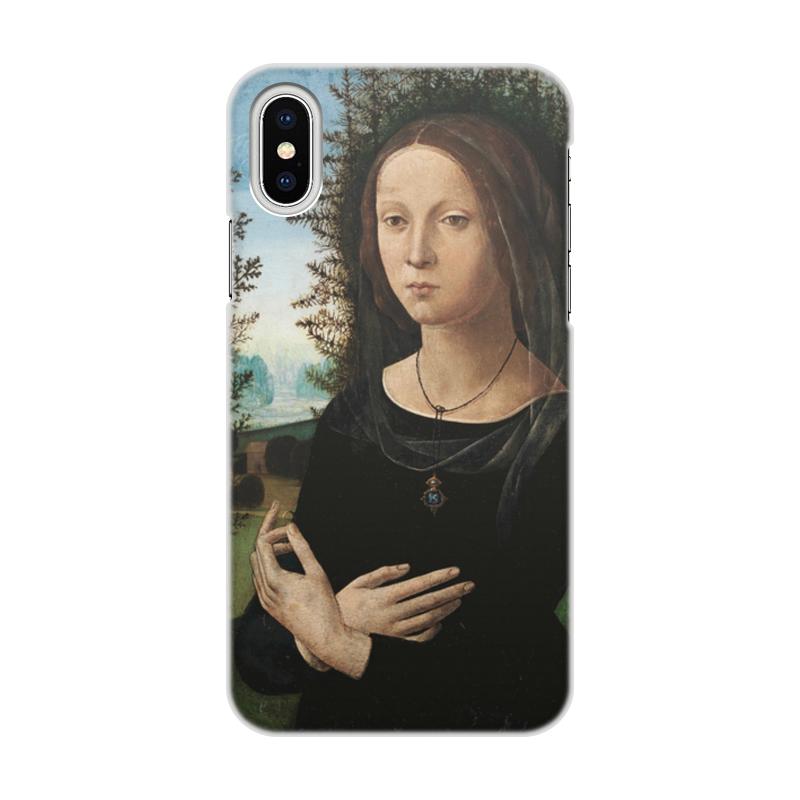 Фото - Printio Чехол для iPhone X/XS, объёмная печать Портрет молодой женщины (лоренцо креди) printio чехол для iphone x xs объёмная печать портрет молодой женщины боттичелли