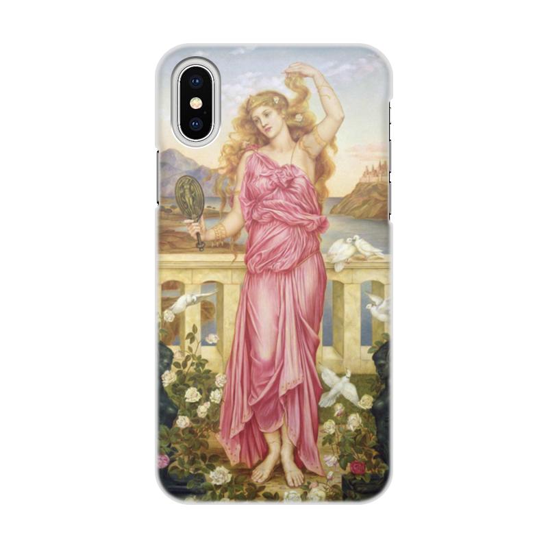 Printio Чехол для iPhone X/XS, объёмная печать Елена троянская (эвелин де морган)