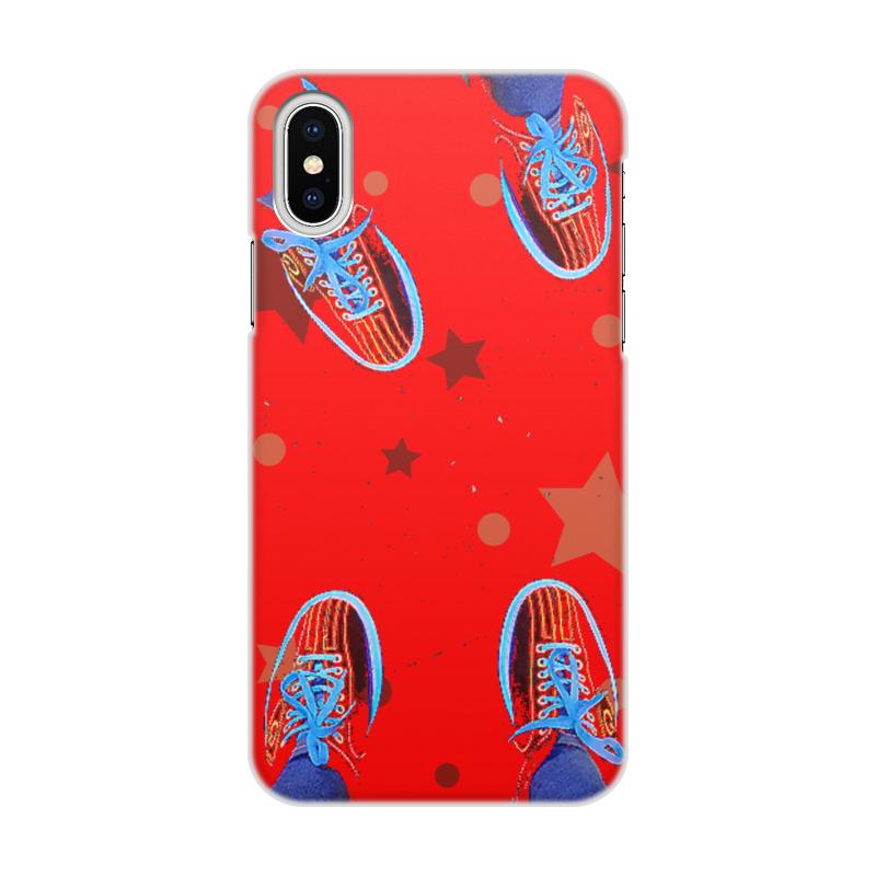 Printio Чехол для iPhone X/XS, объёмная печать I love bowling.