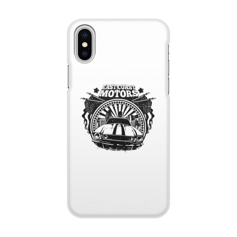 Printio Чехол для iPhone X/XS, объёмная печать East coast motors printio чехол для iphone 6 объёмная печать east coast motors