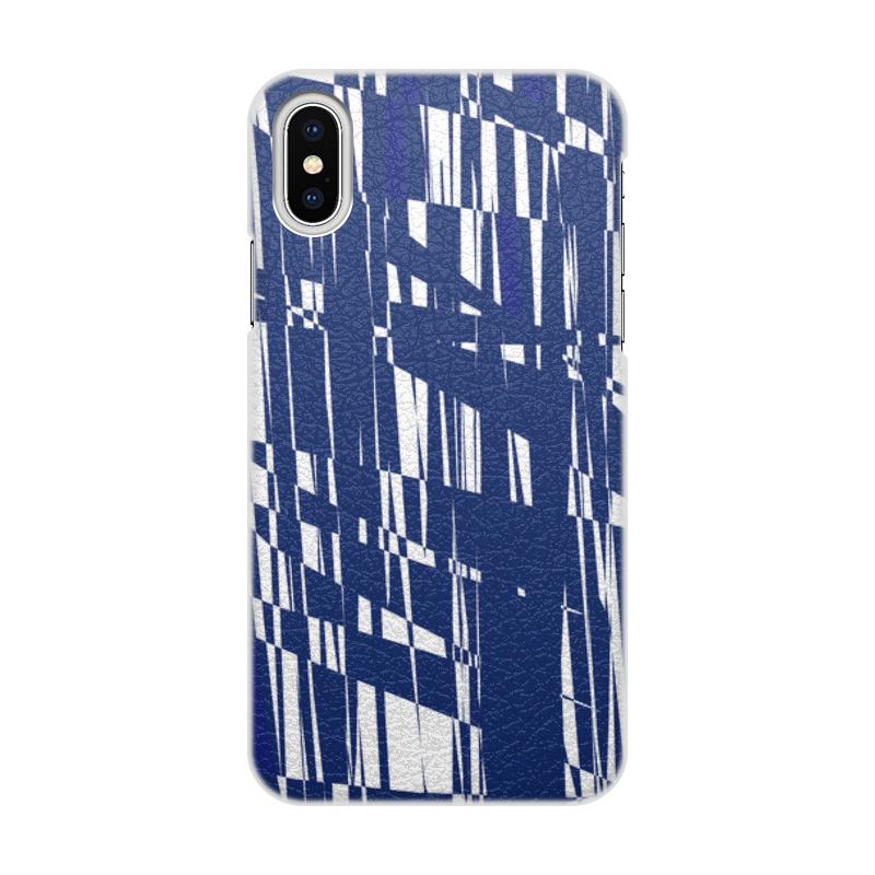 Printio Чехол для iPhone X/XS, объёмная печать Абстракция printio чехол для iphone x xs объёмная печать яблоко