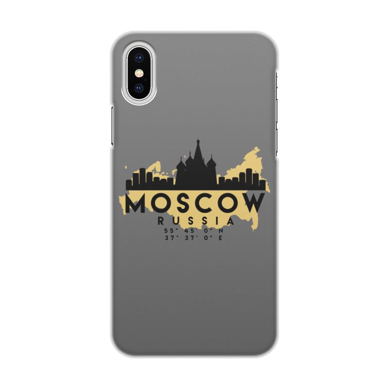 Printio Чехол для iPhone X/XS, объёмная печать Москва (россия)