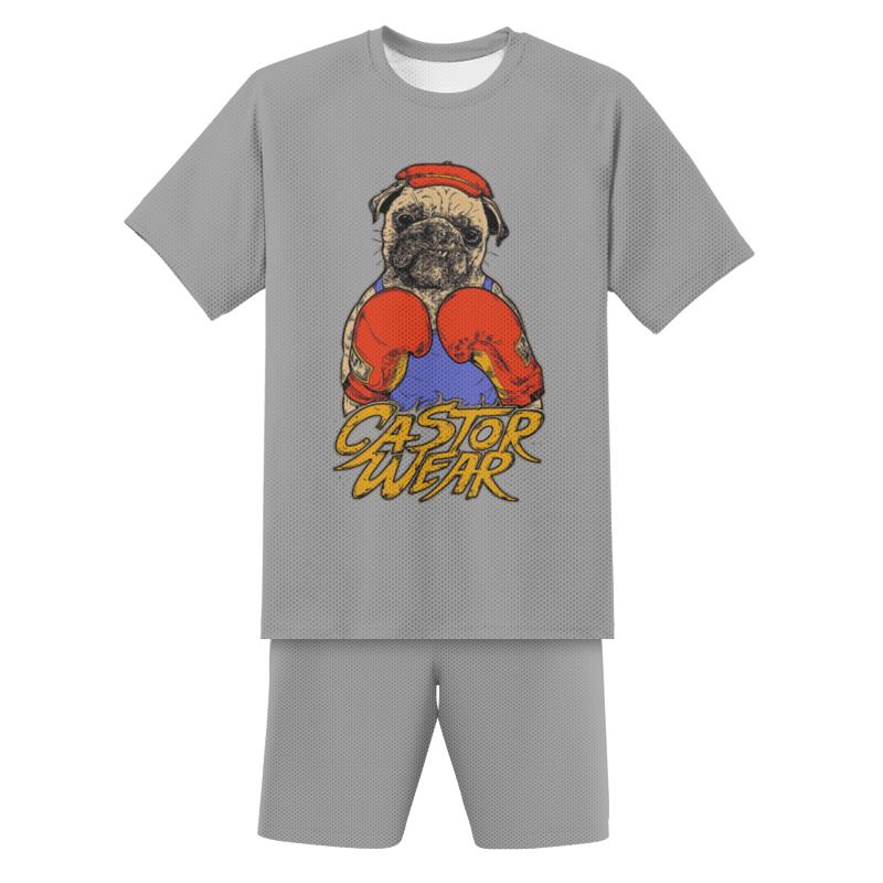 Printio Футбольная форма детская Пёс боксёр