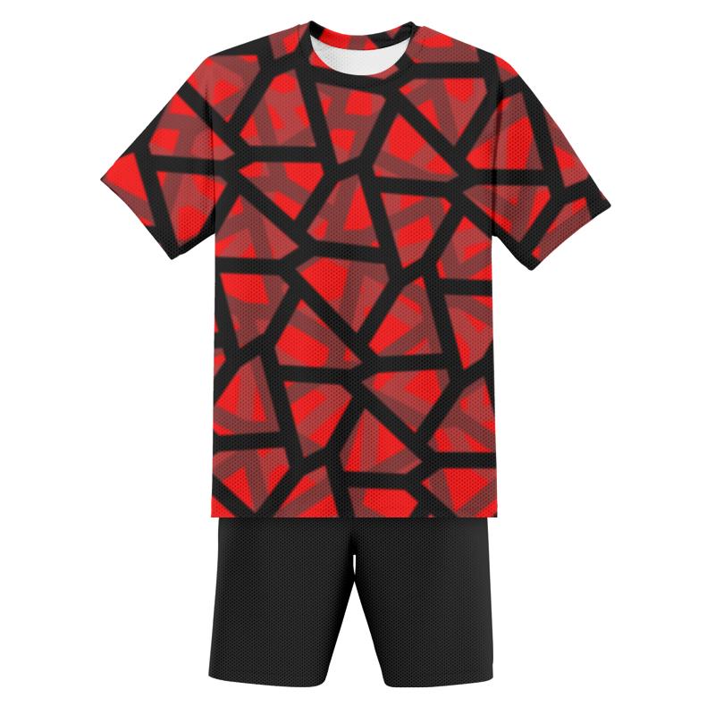 Printio Футбольная форма детская Empty red printio футбольная форма детская карате легенда