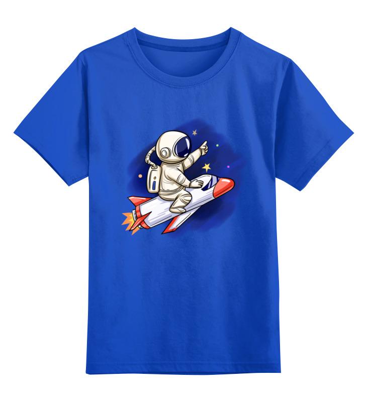 Printio Детская футболка классическая унисекс Полет на луну printio маска лицевая полет на луну