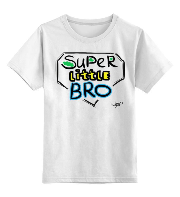 Printio Детская футболка классическая унисекс Super little bro