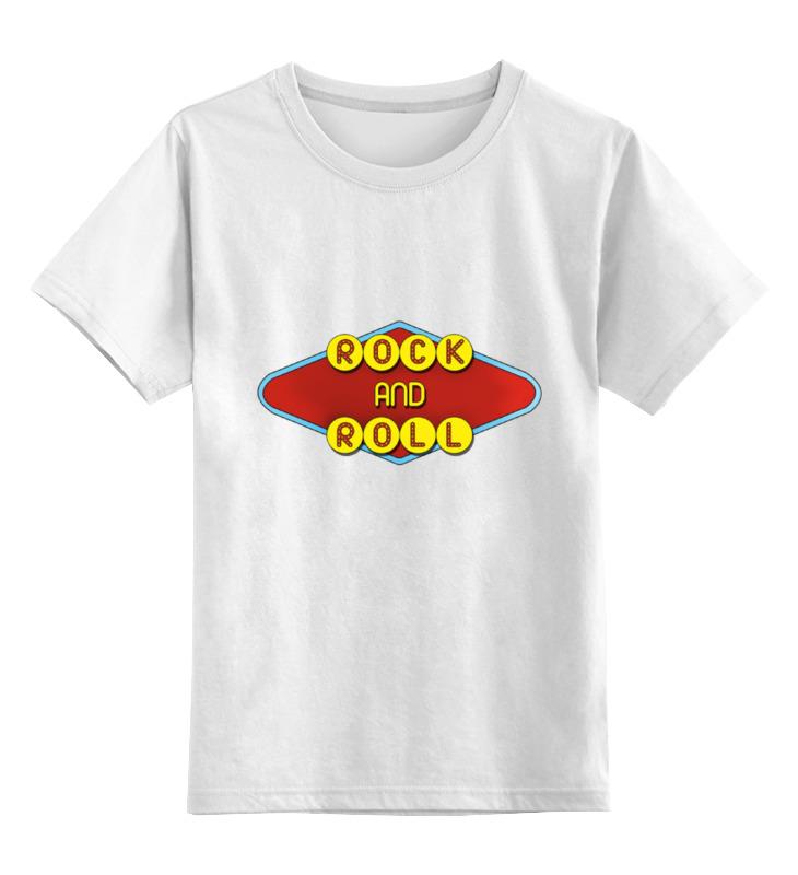 Printio Детская футболка классическая унисекс Rock and roll printio футболка классическая rock and roll
