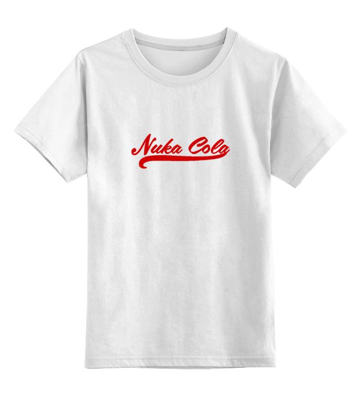 Фото - Printio Детская футболка классическая унисекс Nuka cola (fallout) printio детская футболка классическая унисекс coca cola enjoy truth