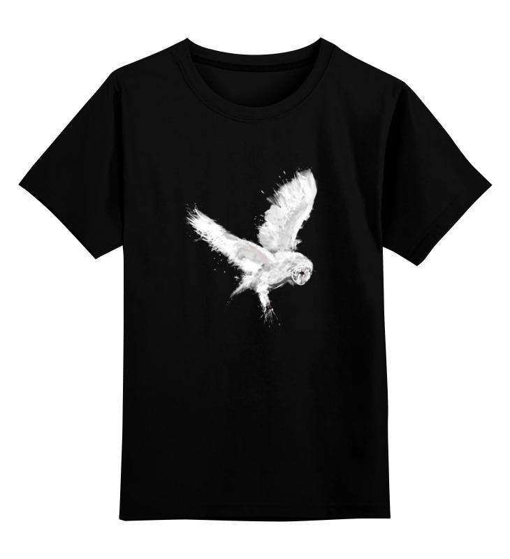 Printio Детская футболка классическая унисекс Белая сова