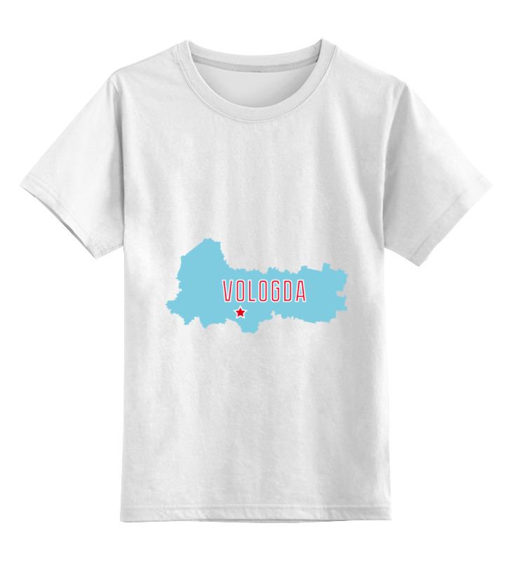 Printio Детская футболка классическая унисекс Вологодская область. вологда
