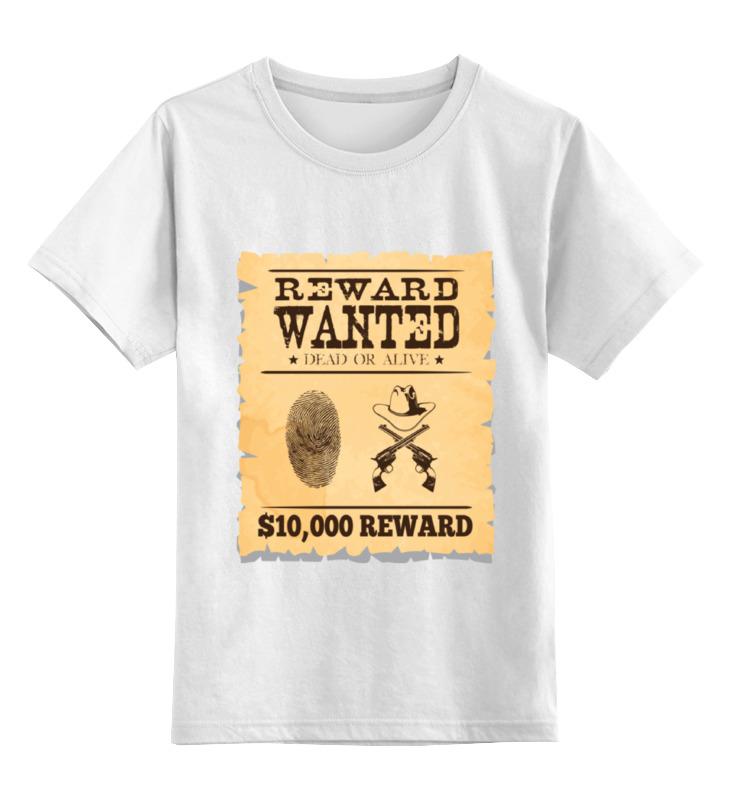 Printio Детская футболка классическая унисекс Разыскивается преступник