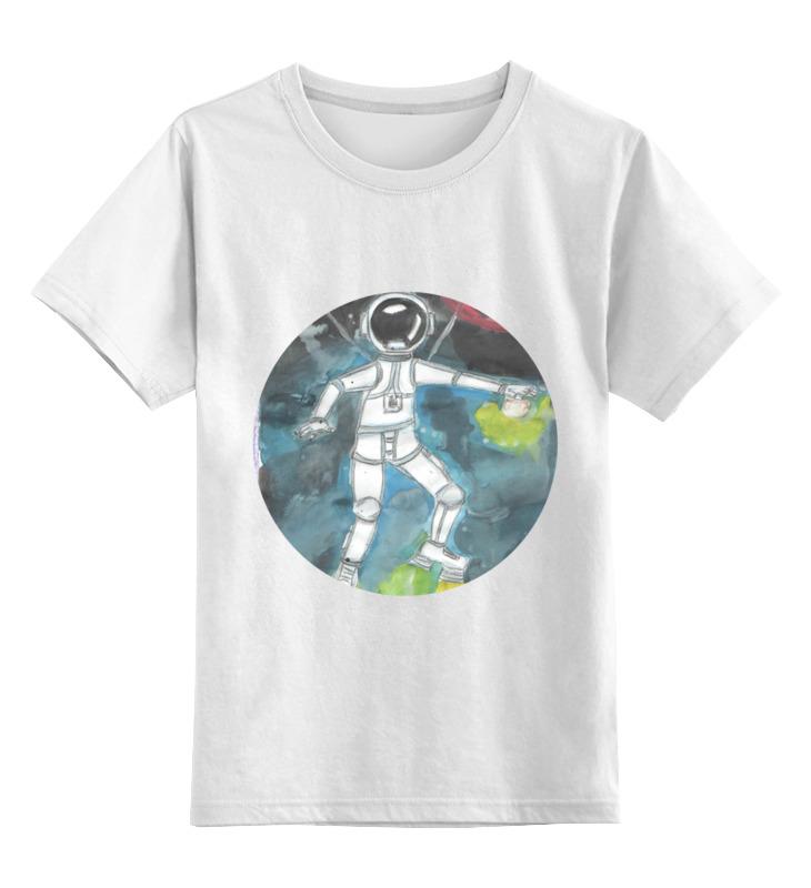 Printio Детская футболка классическая унисекс Космонавт