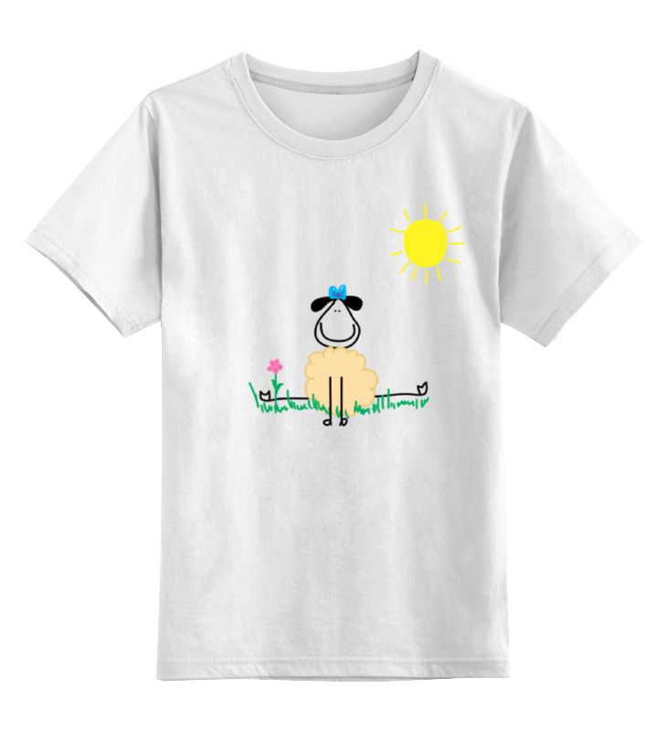 Фото - Printio Детская футболка классическая унисекс Овечка printio футболка классическая овечка